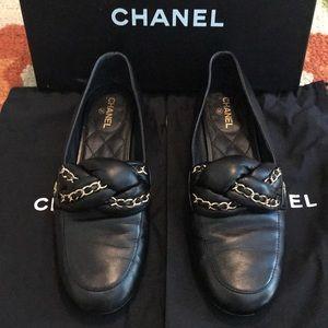 Chanel Chain Braid Loafer